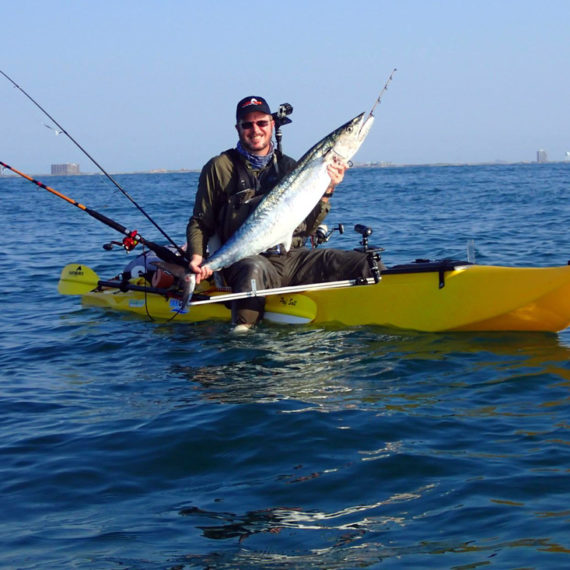 pedal fishing kayak