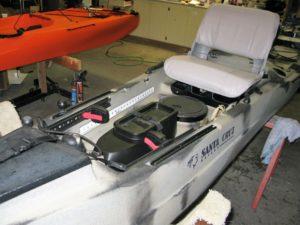 sit on kayak design