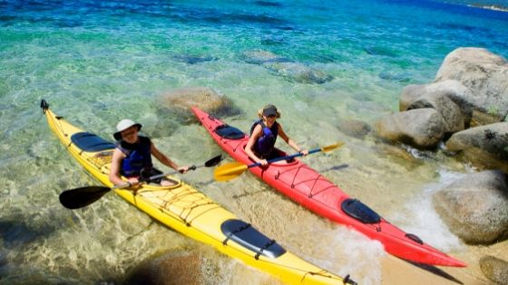 Touring kayak designs