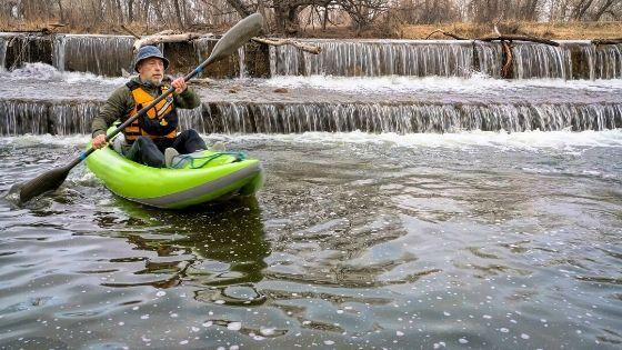 inflatable kayak design