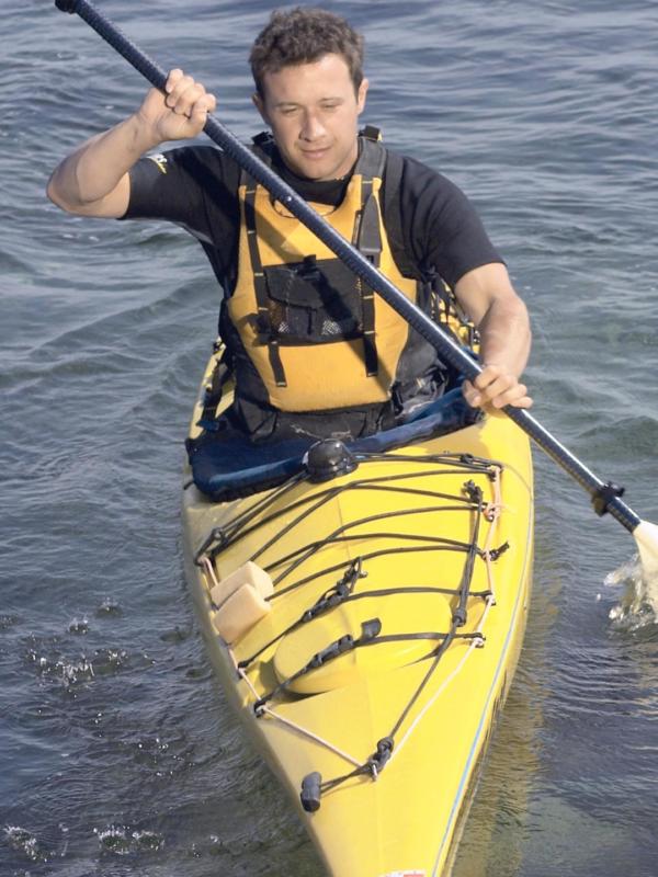sit in kayak design