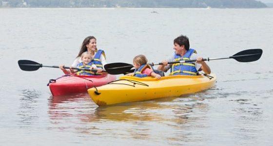 tandem kayaks for relaxing