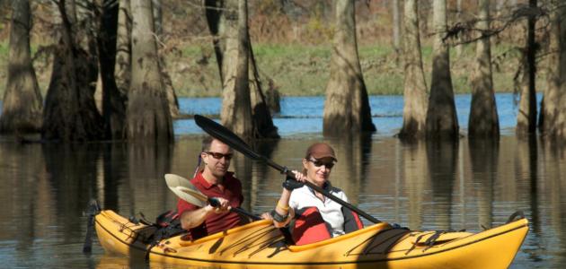tandem kayak workout