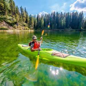 touring kayak for kayaking trip