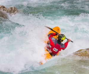 whitewater rafting kayak